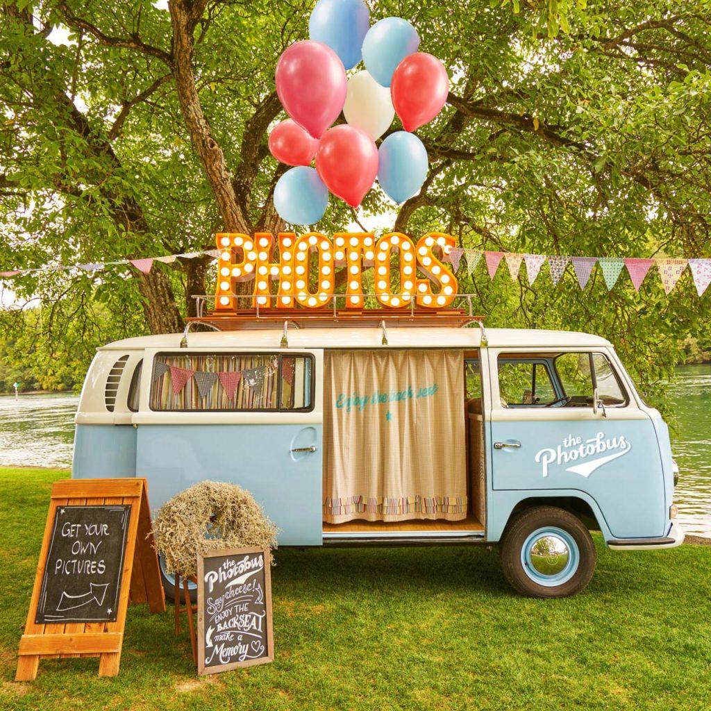 Der retro Fotobus für jeden Event